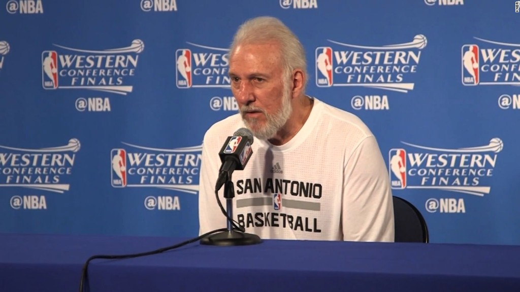 Spurs coach speaks out against President Trump