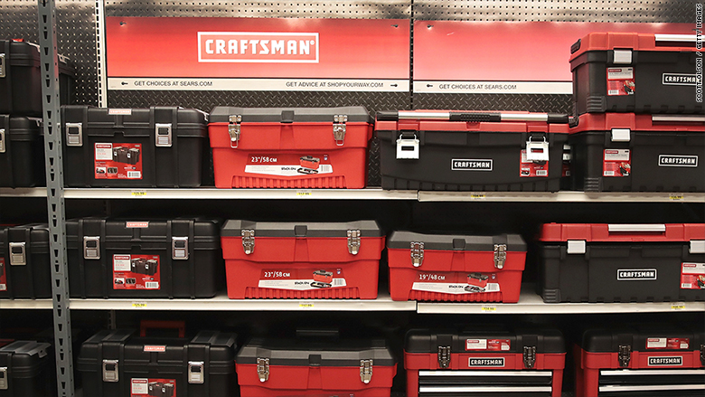 sears' iconic craftsman tools coming to rival lowe's