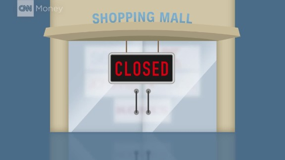 Store closings have tripled so far this year
