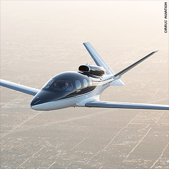 I flew the newest personal jet  It costs $2 million, parachute included