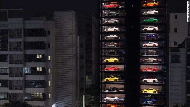 This 150 Foot Tall Vending Machine Will Serve You A Ferrari
