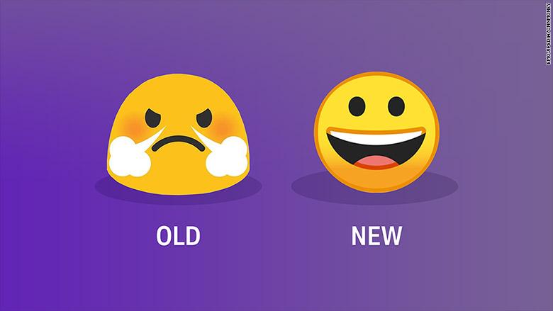 google emoji old new