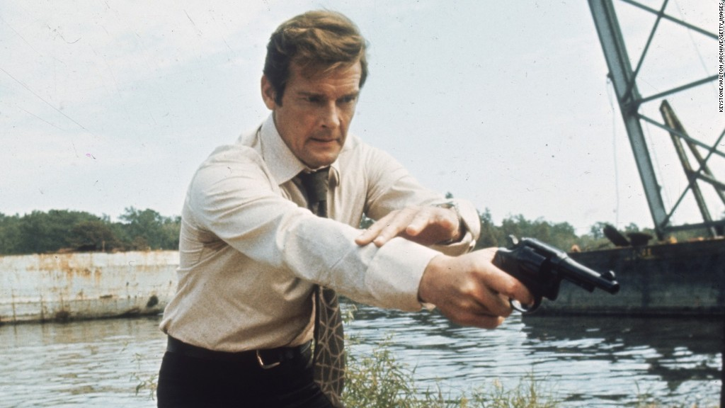 Roger Moore's best James Bond one-liners