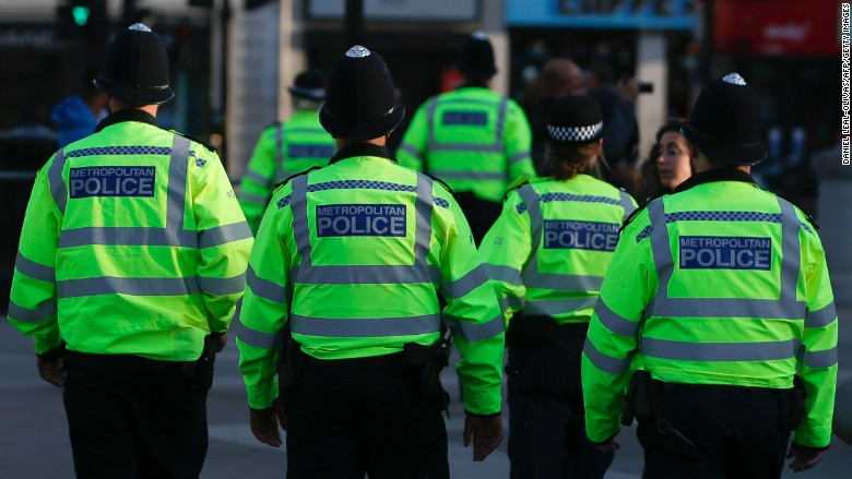london police terror