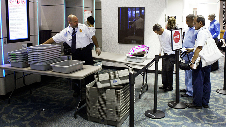 tablet screening airports