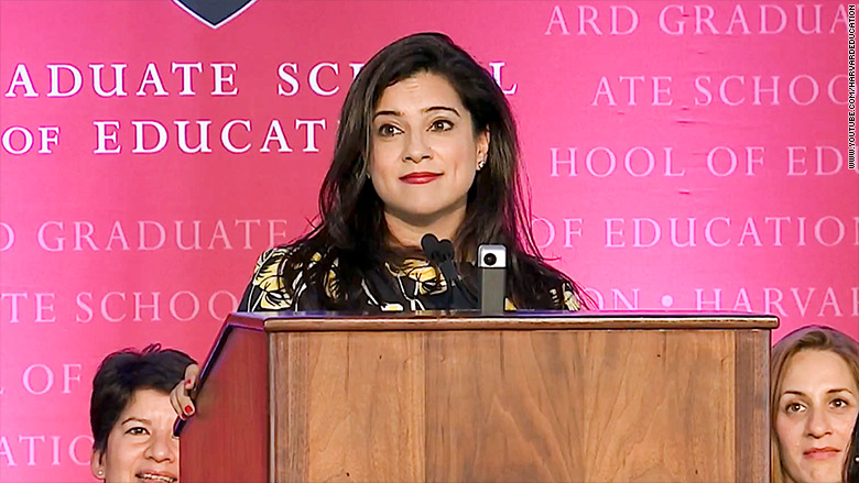 reshma saujani harvard convocation