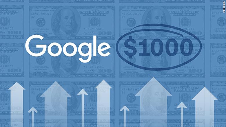 Go Google Alphabet Joins Amazon In 1000 Club
