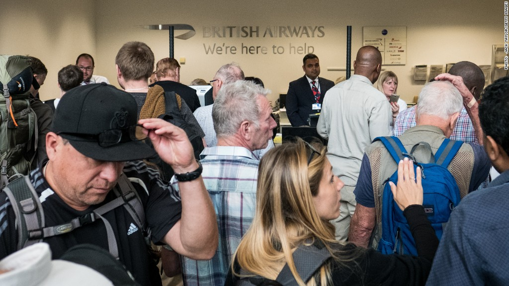 British Airways' costly computer system crash
