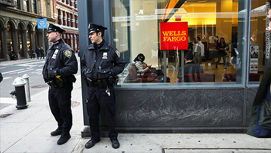 New York City To Cut Wells Fargo From Future Business