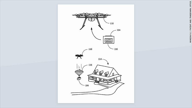 amazon parachute patent