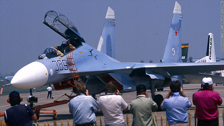 1989 paris air show sukhoi su27