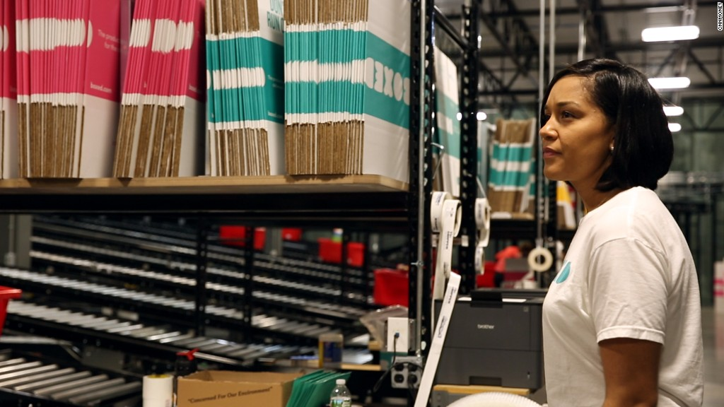 Inside the Boxed warehouse: It's not humans vs. robots