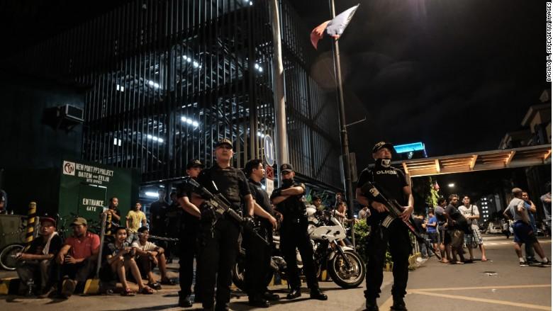 manila philippines attack