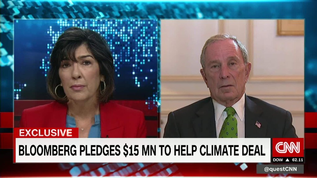 Bloomberg: Climate change threatens economies