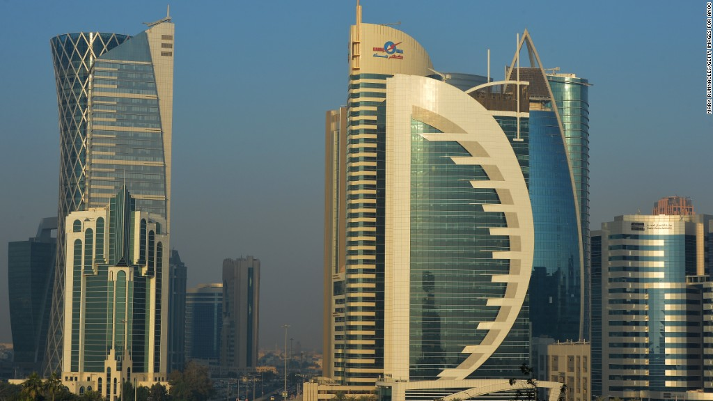 Nations cut ties with Qatar