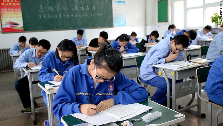 chinese yuan student exam