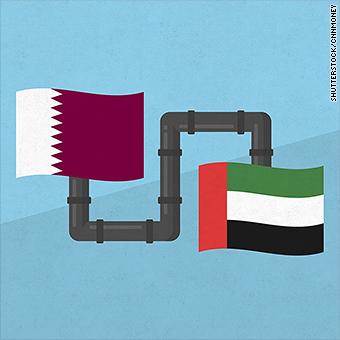 Qatar keeps gas flowing to UAE despite blockade