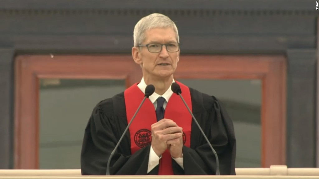 Tim Cook: Technology can't work without people