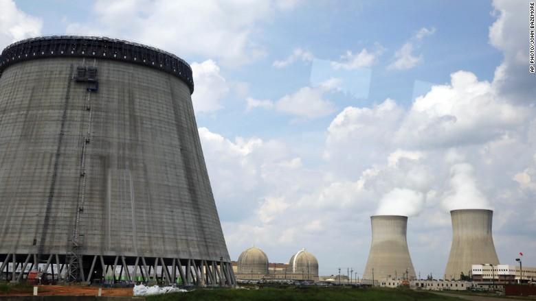 vogtle nuclear reactor georgia