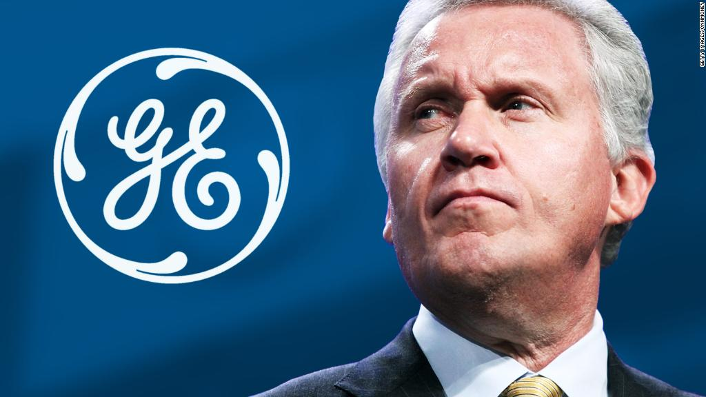 Jeff Immelt steps down as CEO of General Electric