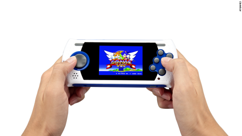 Sega Genesis Flashback handheld