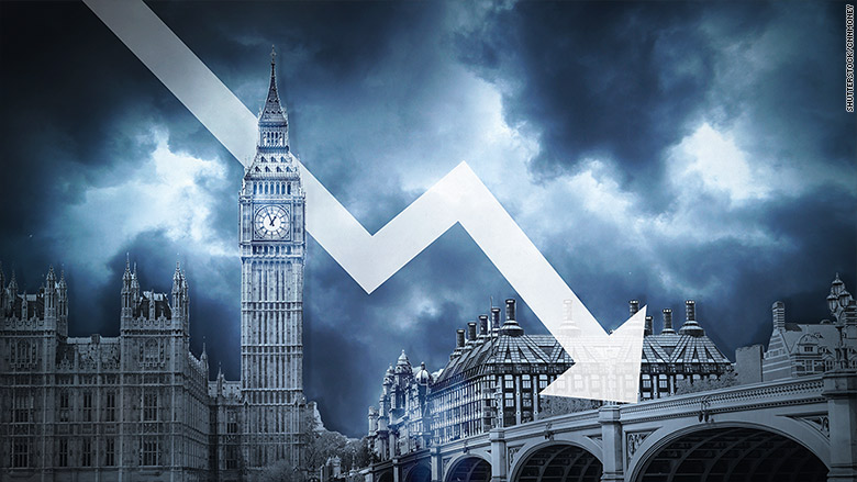 uk economy down
