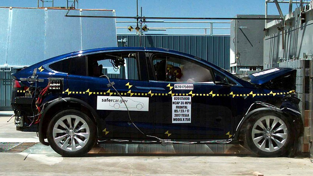 Tesla's Model X is the safest SUV ever tested