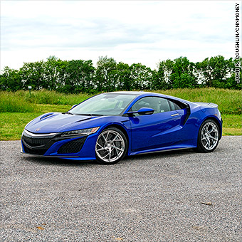 Acura Nsx Crazy Geeky Fun