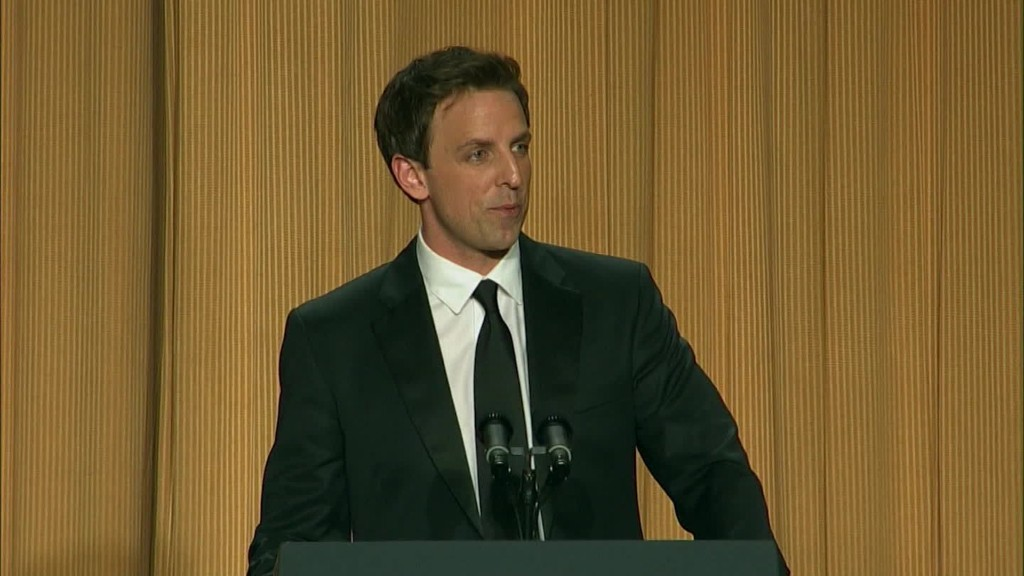 Seth Meyers has a long history with Donald Trump