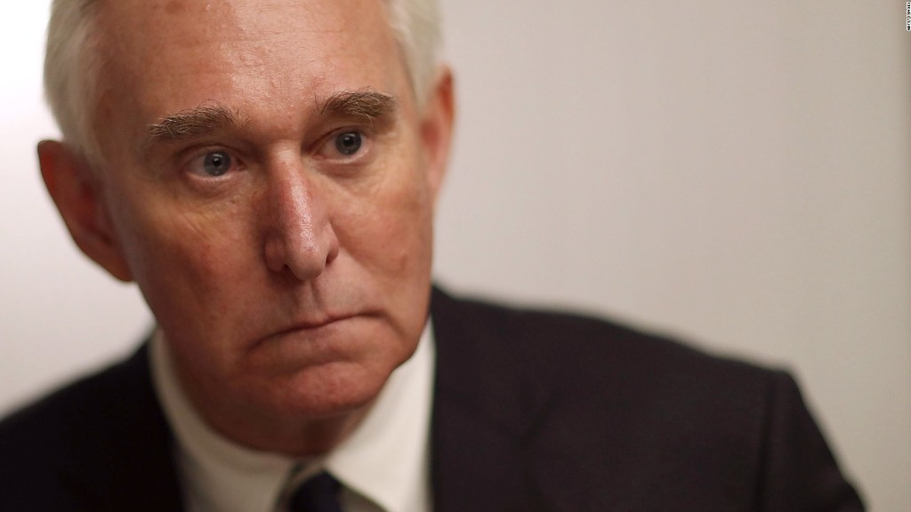 Who is Roger Stone?