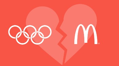 Why you won't see Olympics-themed McDonald's ads this year