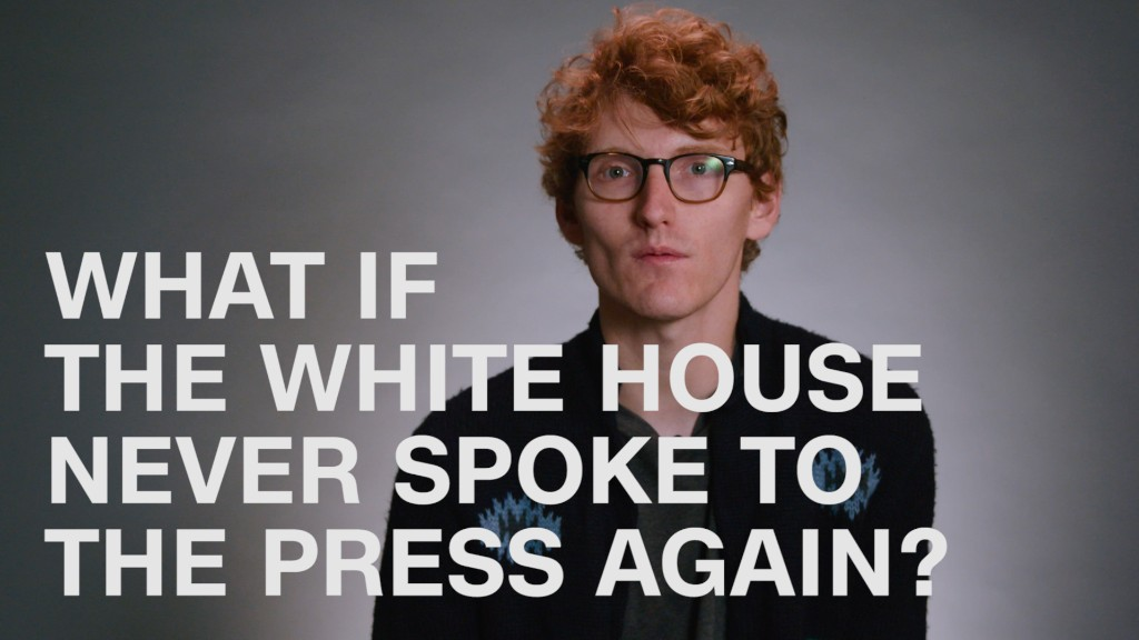 What if the White House never spoke to the press again?