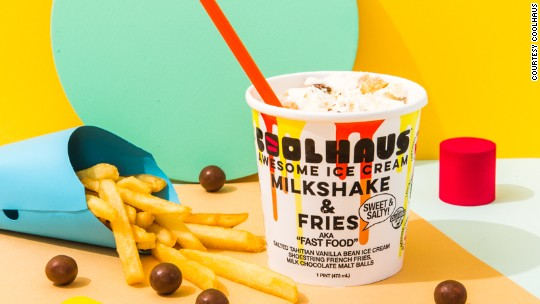 Cool Haus candied bacon or milkshake and fries coolhaus is taking