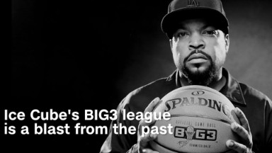 Ice Cube's BIG3 is a blast from basketball's past