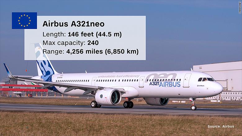 paris airshow airbus a321neo