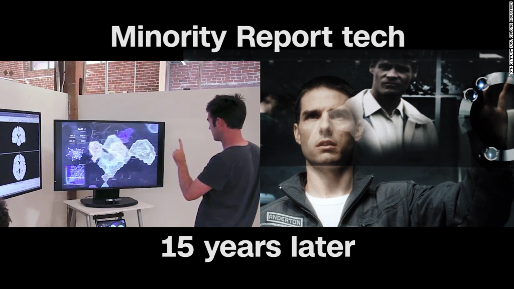 Minority Report tech: 15 years later