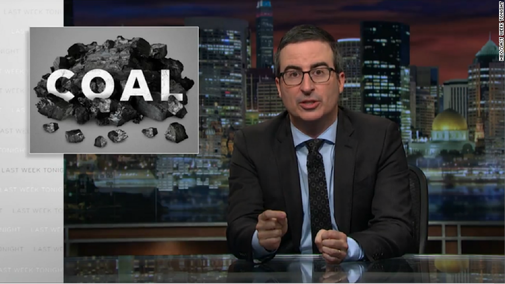Coal CEO sues John Oliver