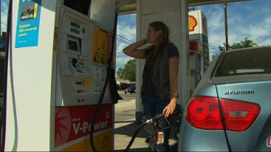 Summer gas prices dip to 12-year low
