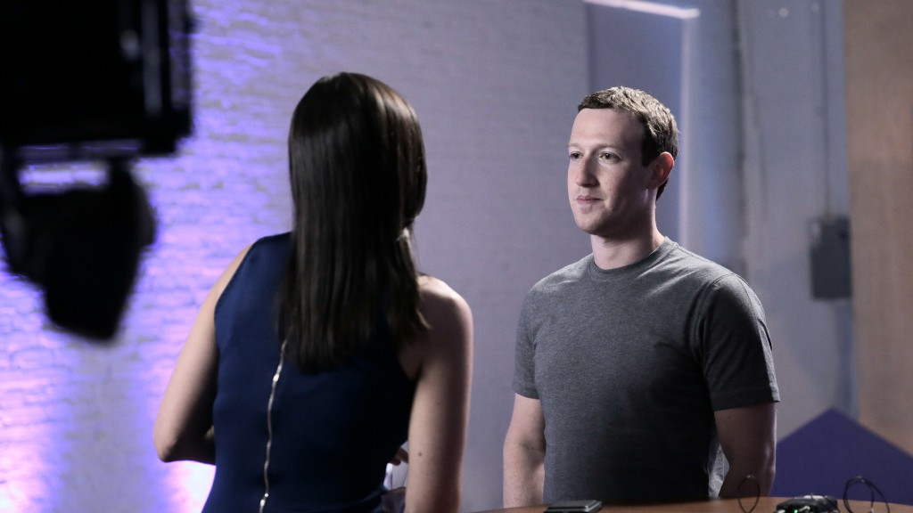 Zuckerberg: Internet for the world is good for democracy
