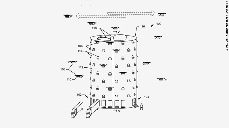 amazon drone beehives