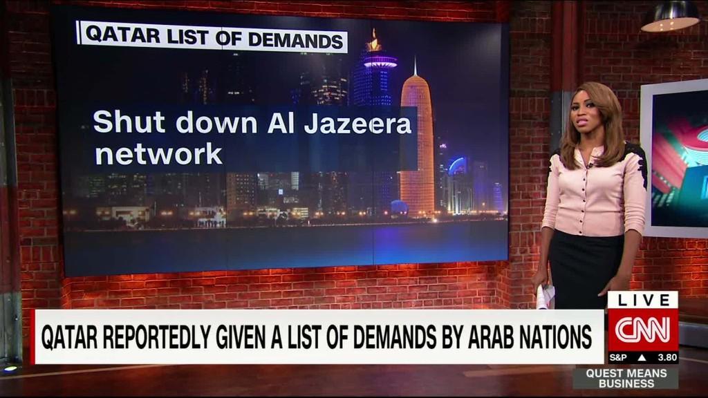 Arab nations call on Qatar to shut Al-Jazeera