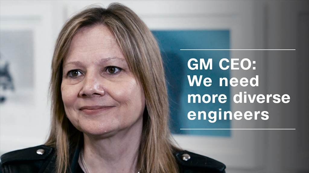 GM CEO: We need more diverse engineers