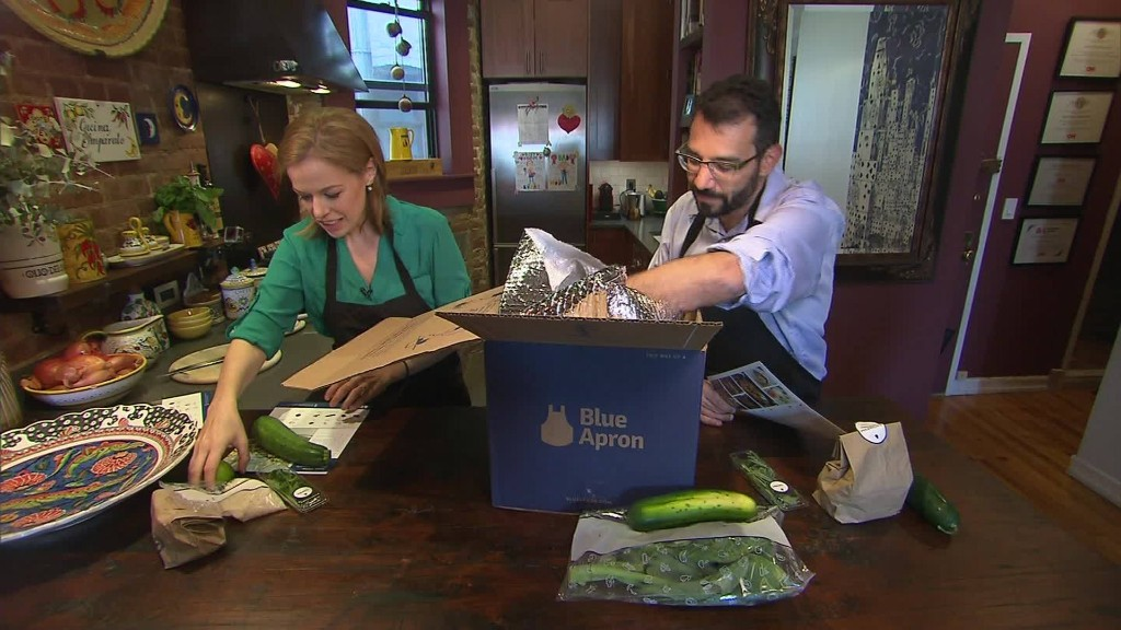 Wall Street gets its first taste of Blue Apron IPO