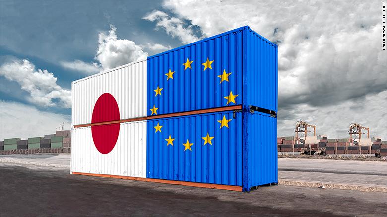 Japan EU trade