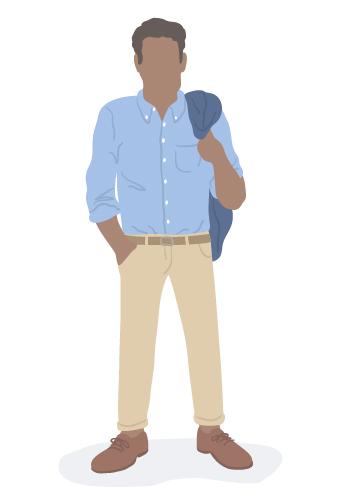 business fashion advice millennials man