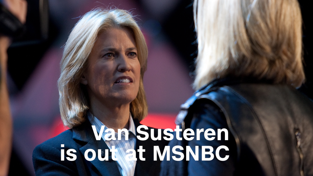 Greta Van Susteren is out at MSNBC