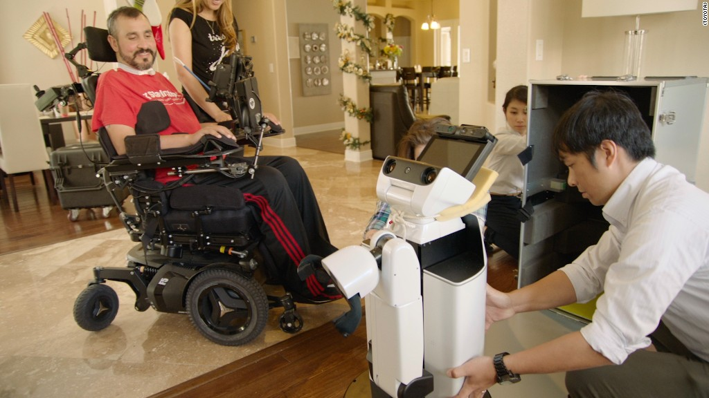 This robot can help people with physical disabilities