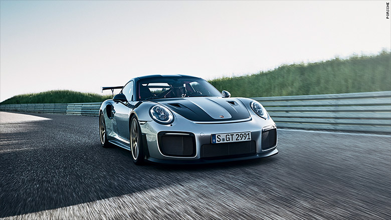 Porsche Reveals The Fastest 911 Ever