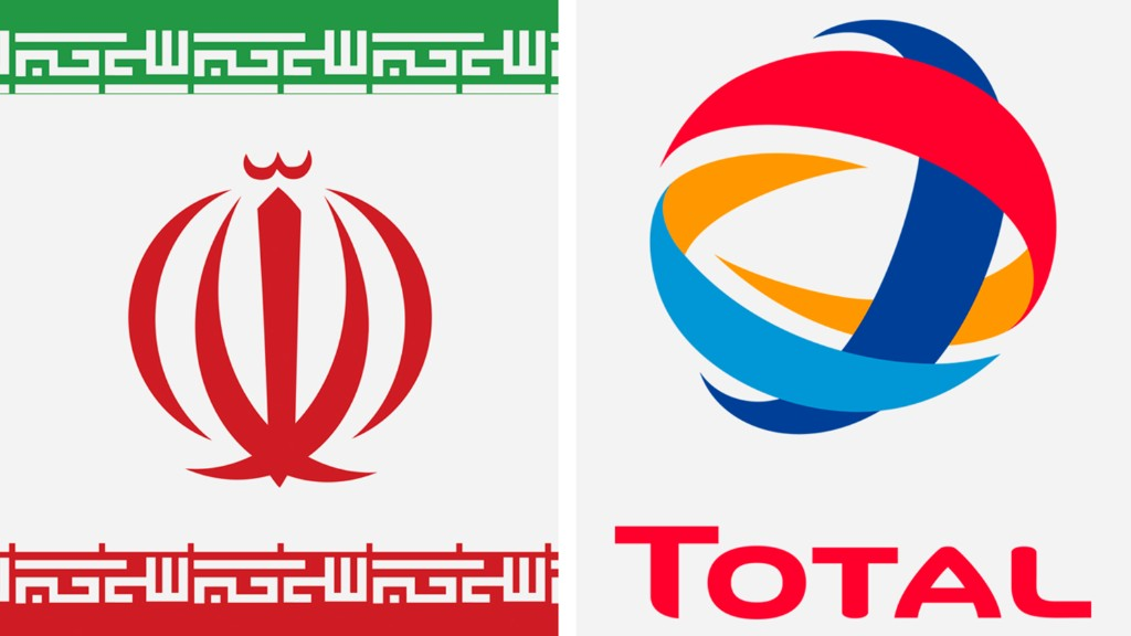 Iran signs $2 billion gas deal with Total