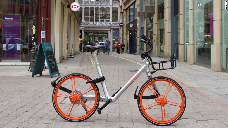 mobike manchester launch